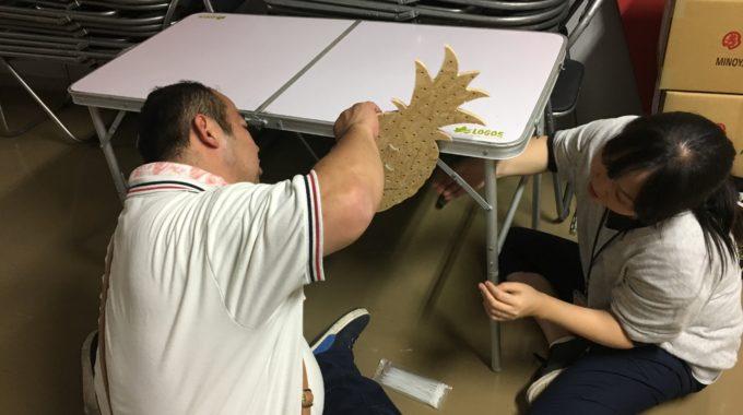 5月2日 ハンドメイド&エンターテイメントマルシェ~前日設営